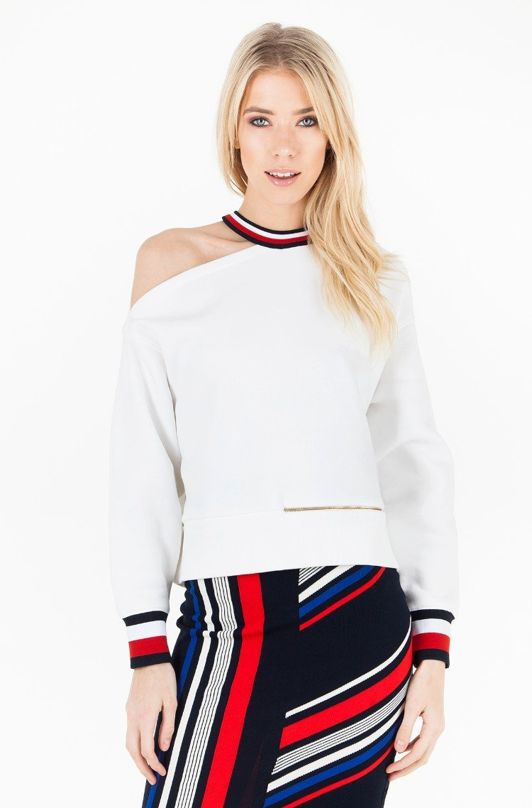 Dressipluus GIGI HADID OPEN SHOULDER LS SWEAT87741