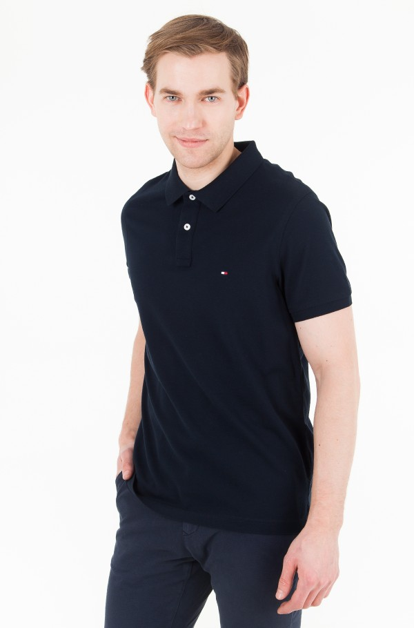 TOMMY HERITAGE TIPPED SLIM POLO