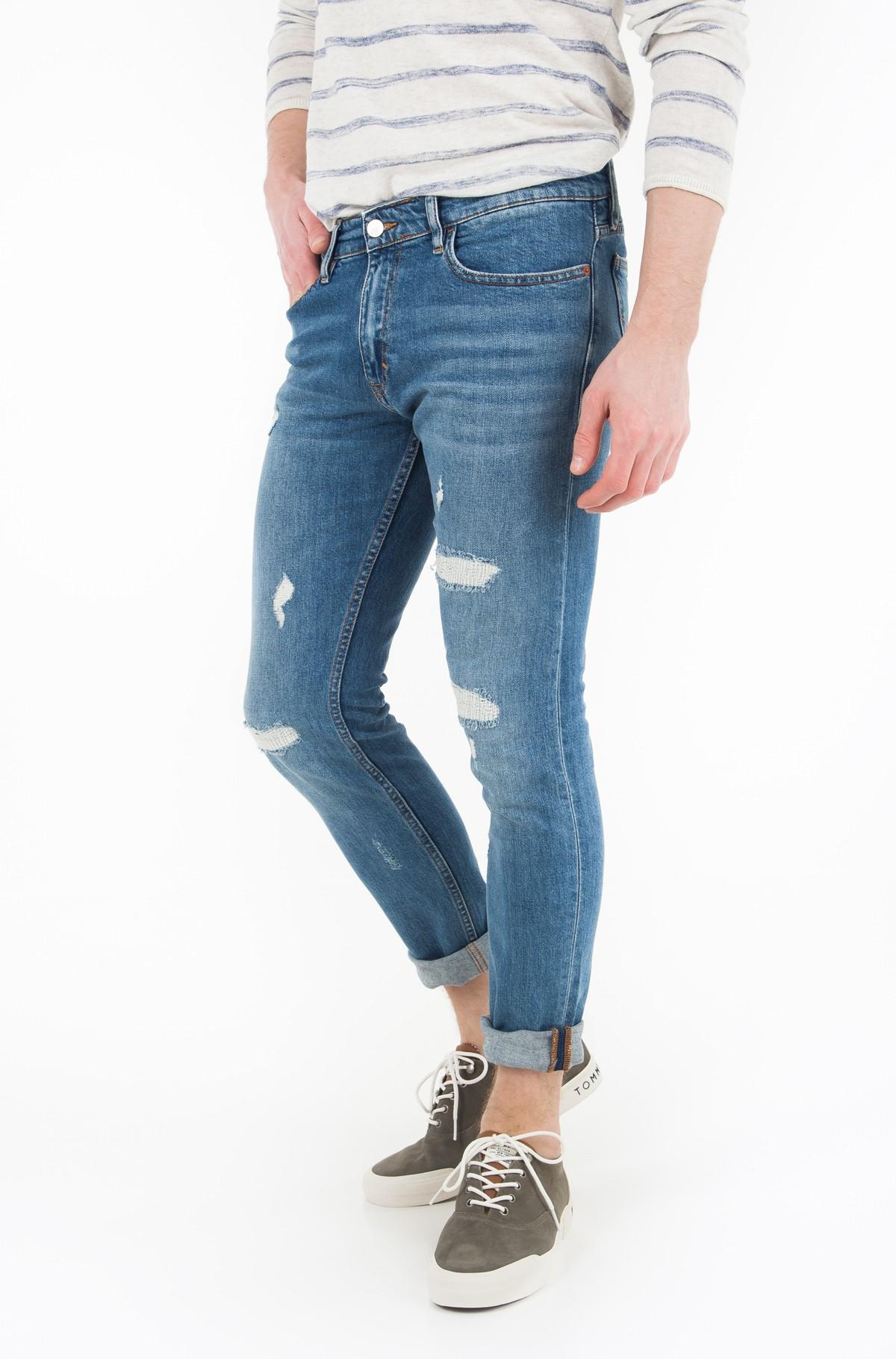 Džinsinės kelnės Skinny-Manchester Blue DSTR CMF-full-1