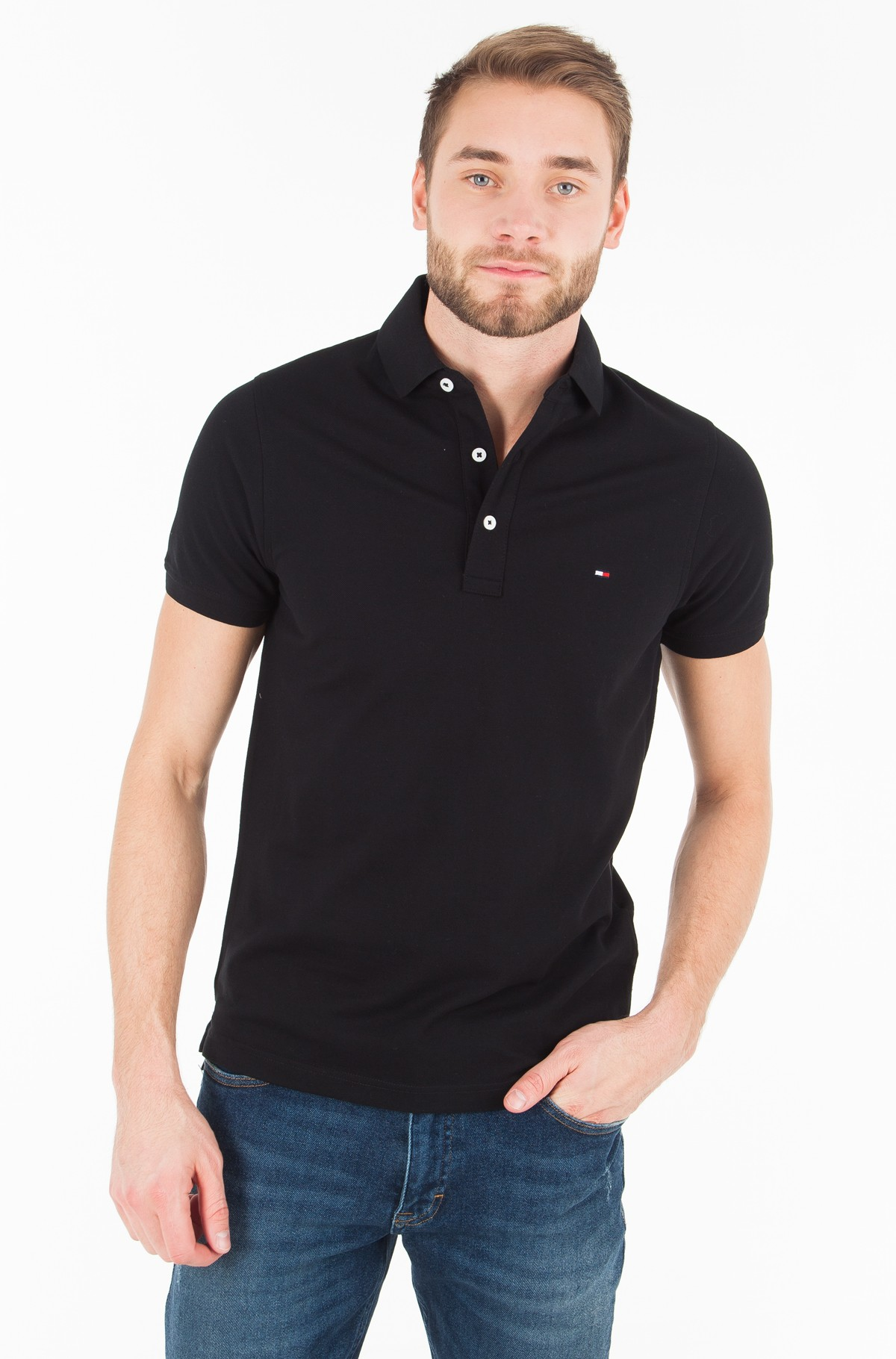 Polokrekls  Core Tommy Slim Polo-full-1