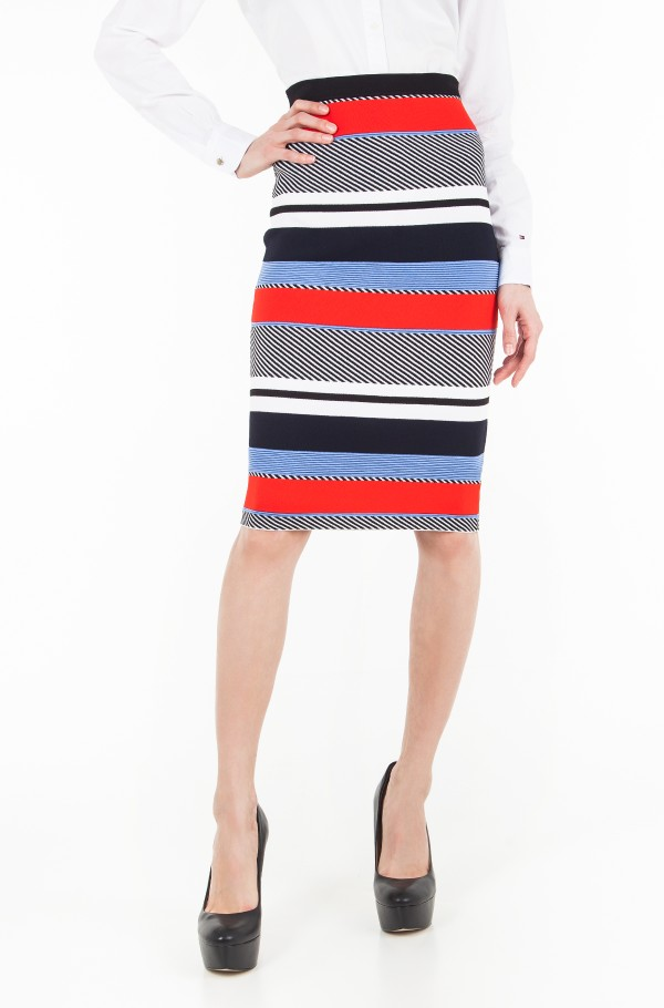 PILAUX GRAPHIC PENCIL SKIRT