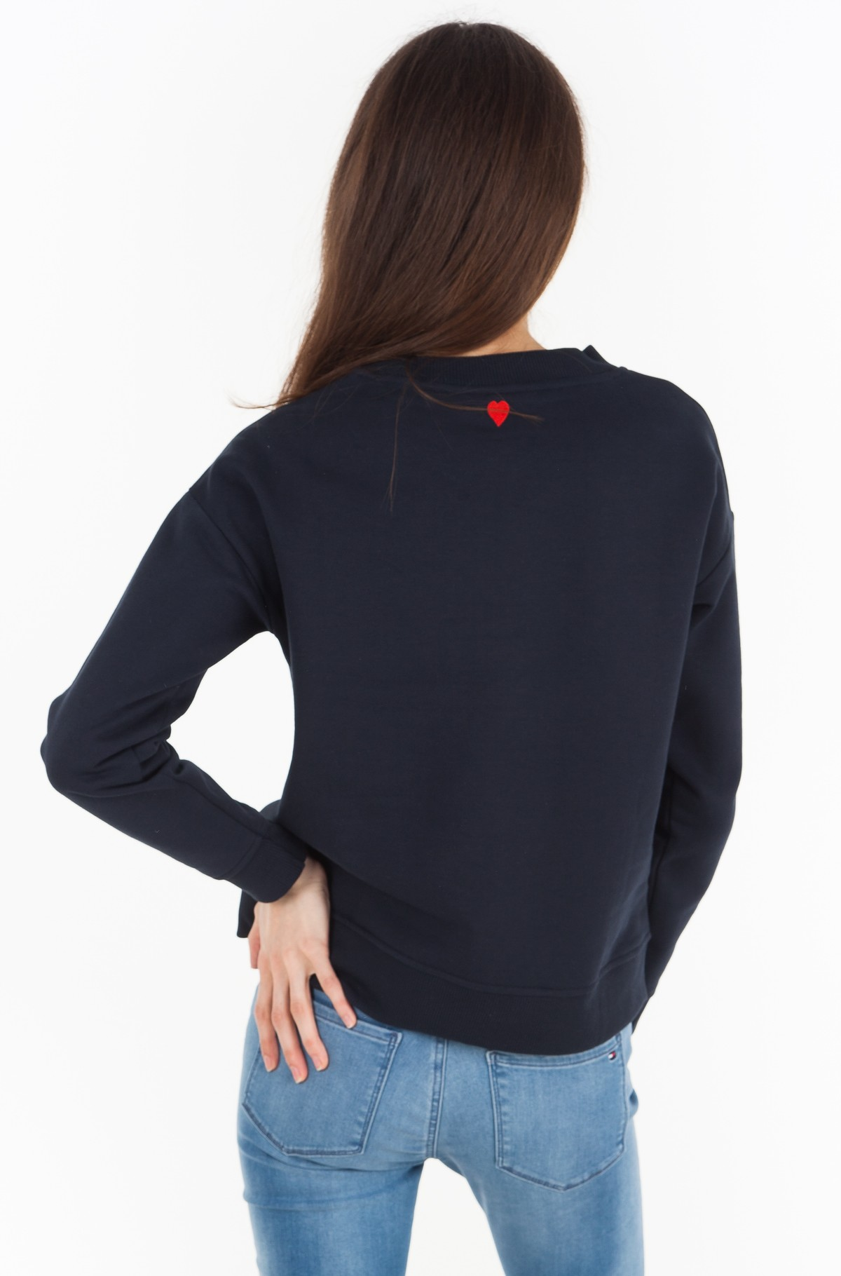 Džemperis Inj Tommy Love C-nk Sweatshirt-full-2