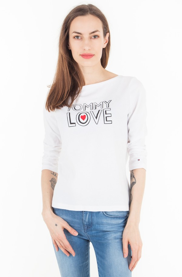 INJ TOMMY WITH LOVE C-NK 3/4 SLV