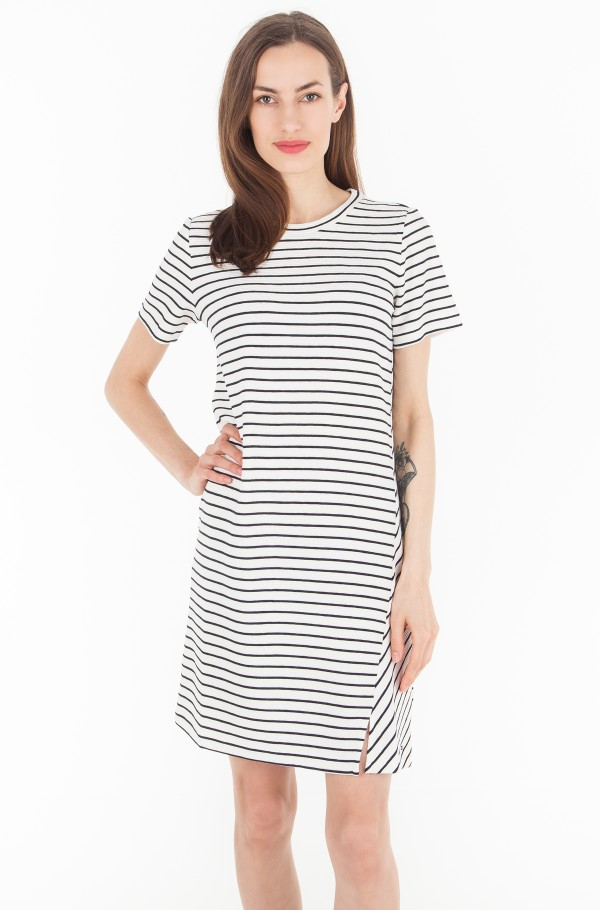 BRENNA C-NK DRESS 1/2 SLV