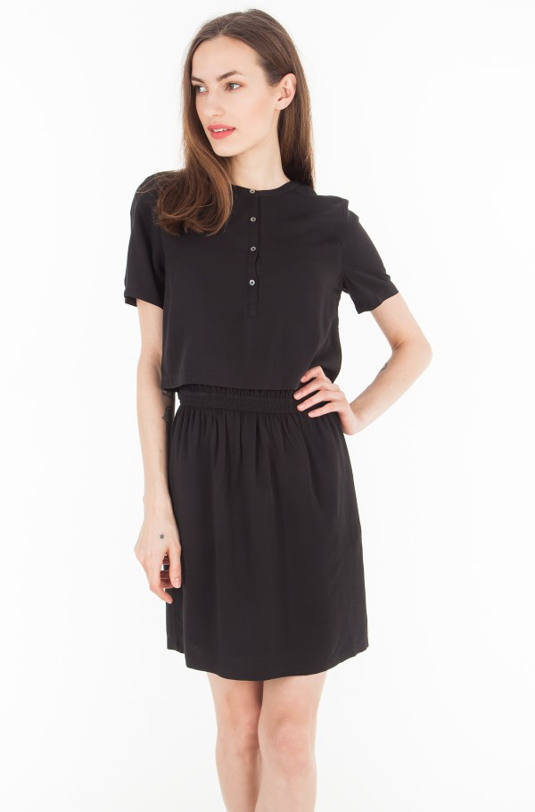 DELORES WAISTED DRESS SS
