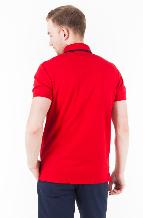 SLIM FIT STRETCH POLO-hover