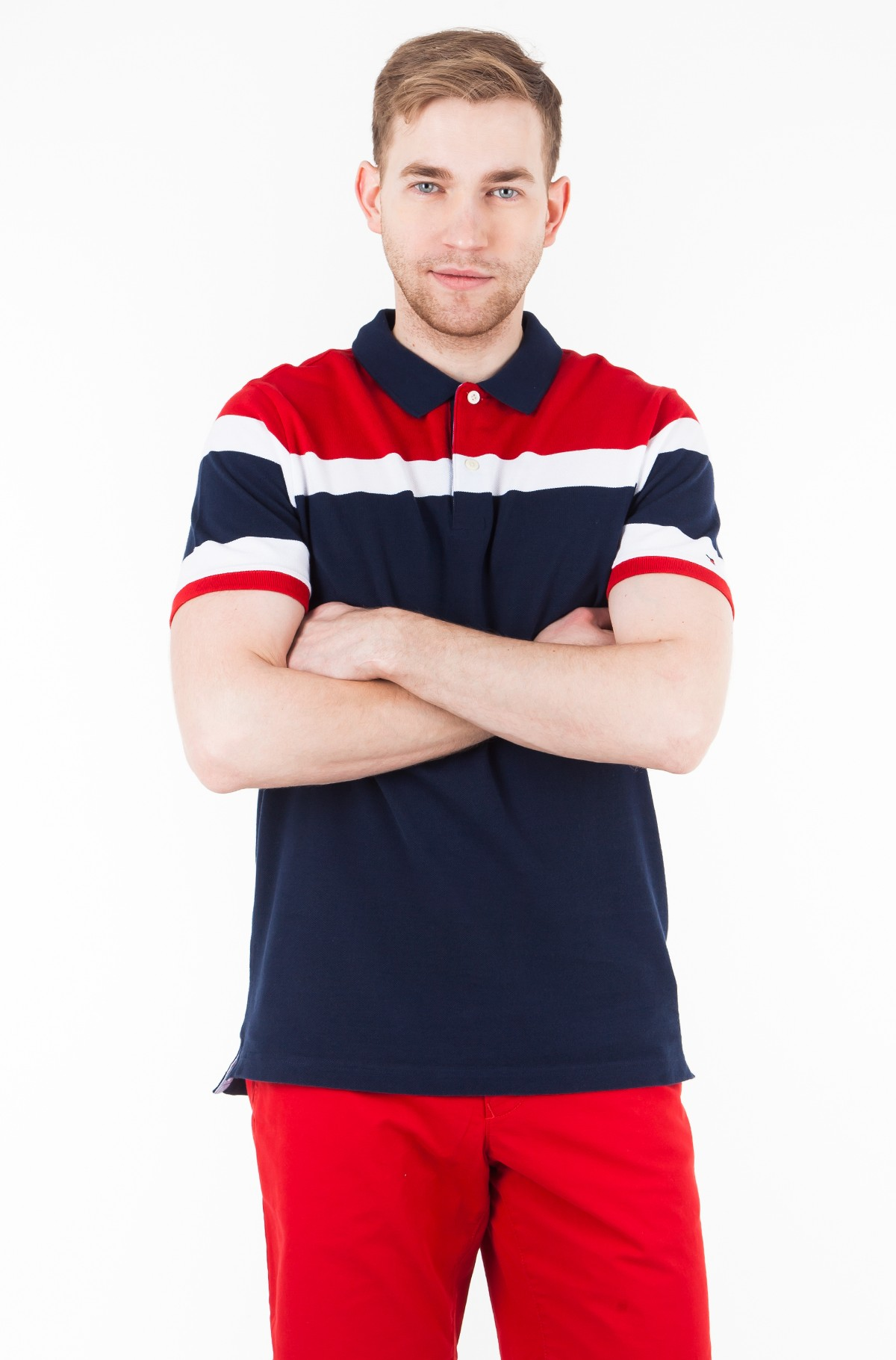 Polo RACING STRIPE SLIM POLO-full-1