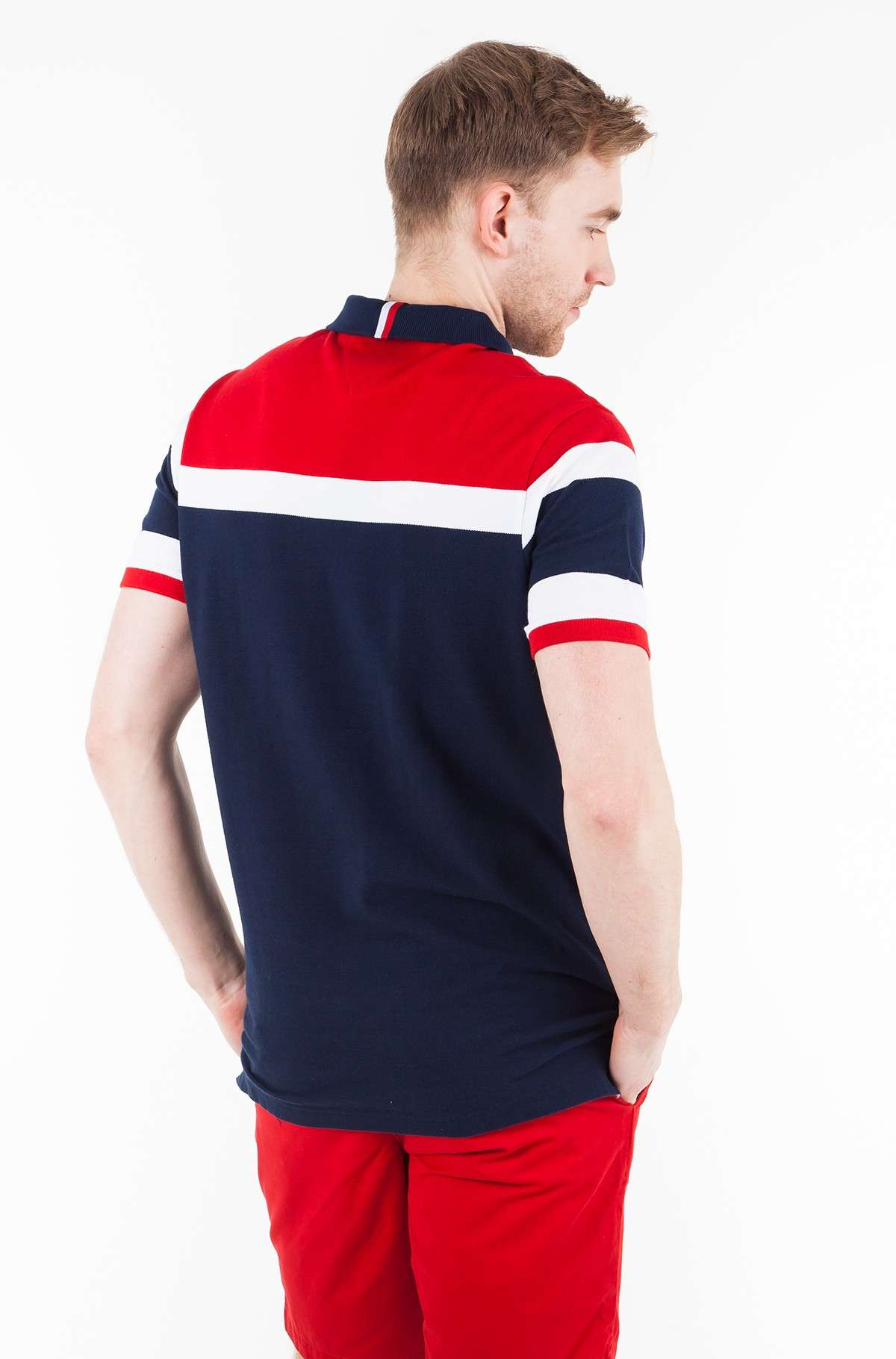Polo RACING STRIPE SLIM POLO-full-2