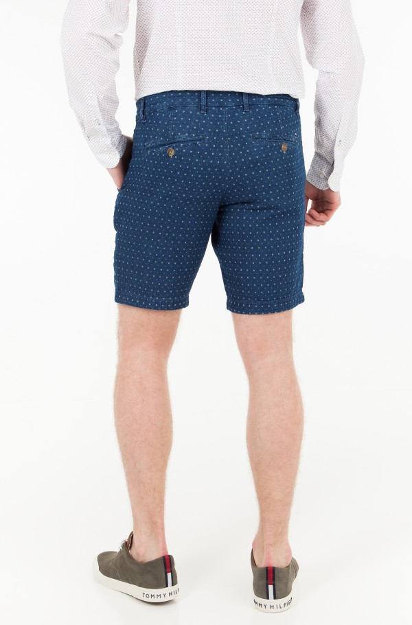 BROOKLYN SHORT CHAMBRAY WOVEN GEO-hover