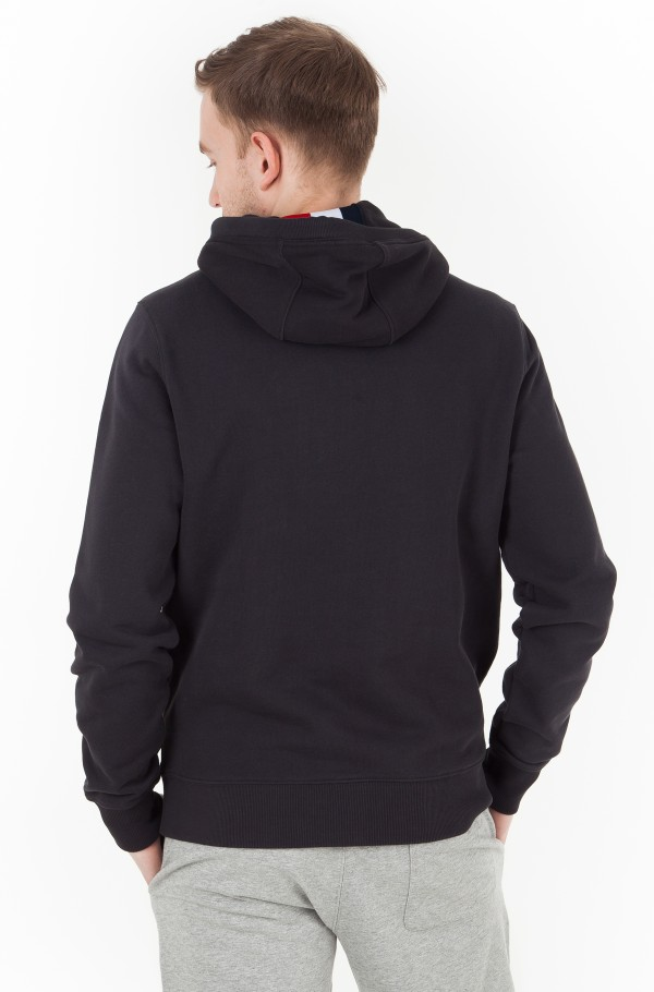 TOMMY CHEST LOGO HOODY-hover