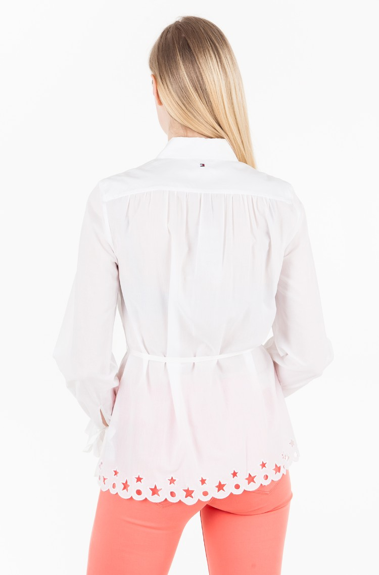 ee509c7d5fd White Shirt HAYETTE BLOUSE LS Tommy Hilfiger, Womens Blouses | Denim ...