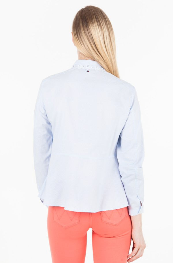 HAVEN A LINE OXFORD SHIRT 7/8 SLV-hover