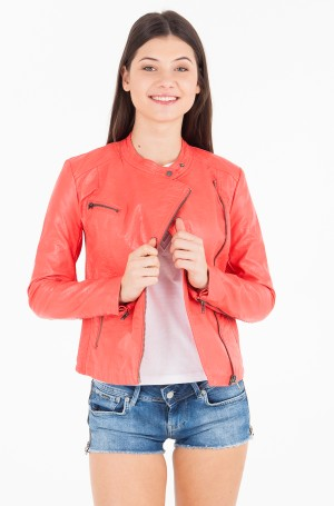 Leather jacket MADY/PL401336-1