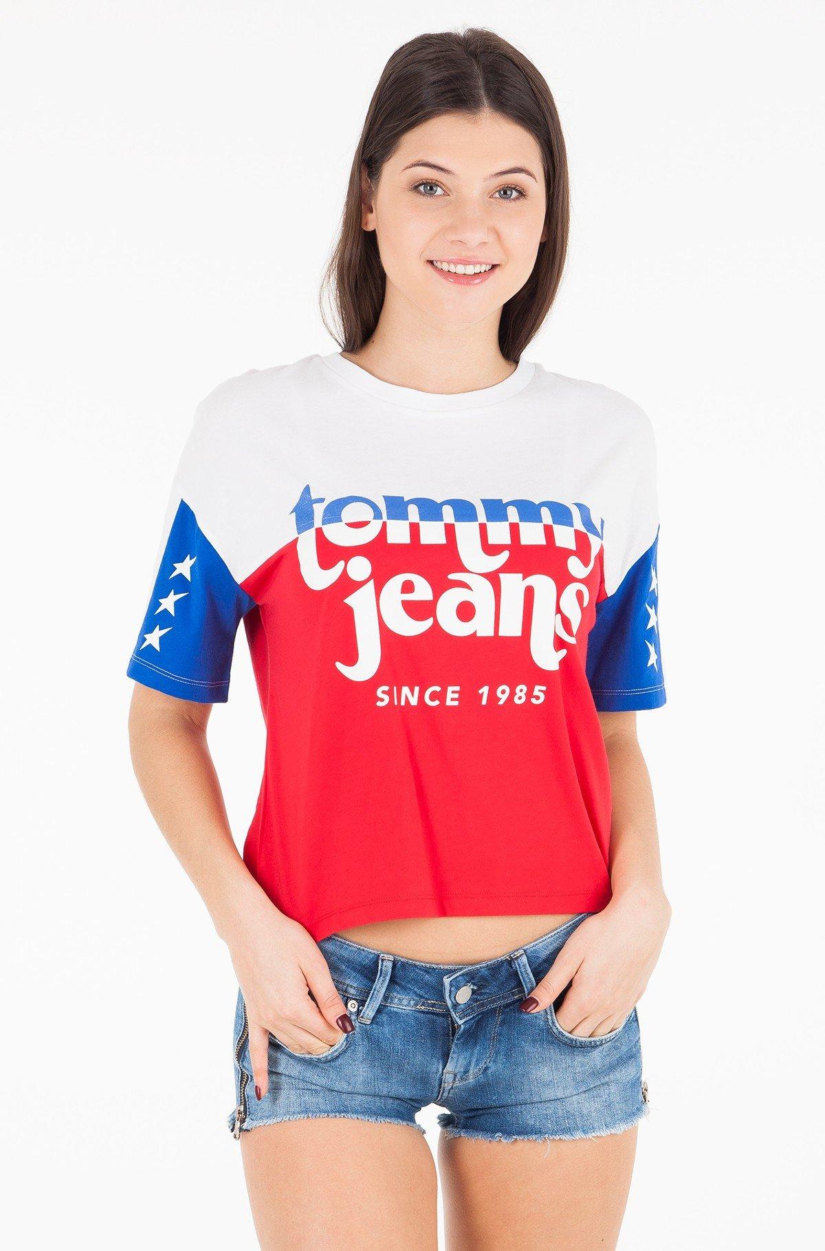 Marškinėliai TJW COLOR BLOCK LOGO TEE-full-1