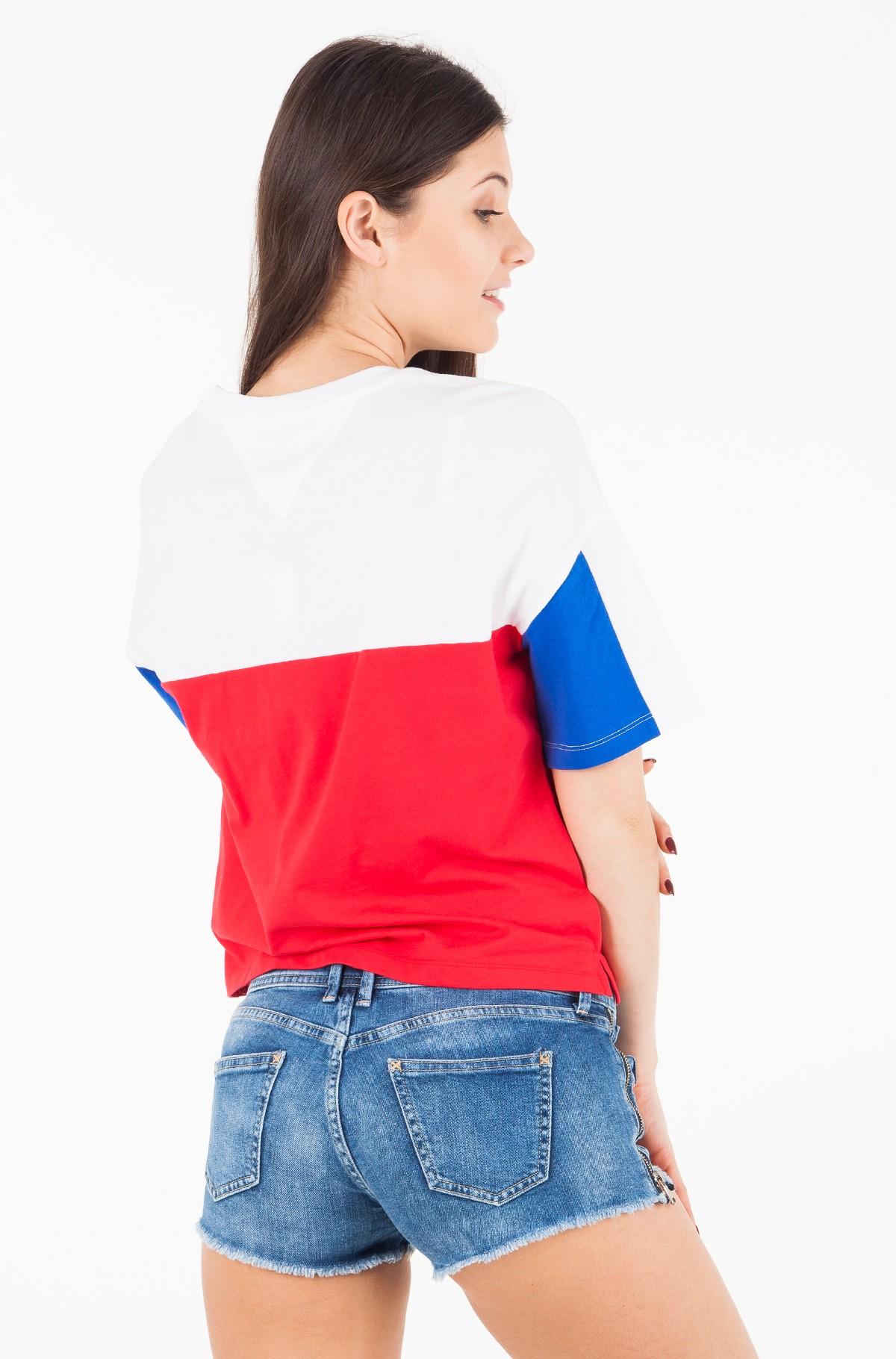 Marškinėliai TJW COLOR BLOCK LOGO TEE-full-2