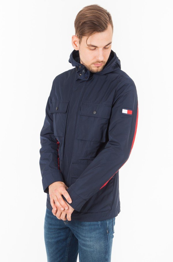 MIX HOODED FIELD JACKET