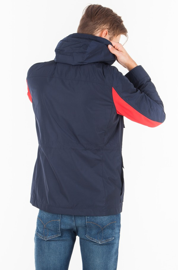 MIX HOODED FIELD JACKET-hover