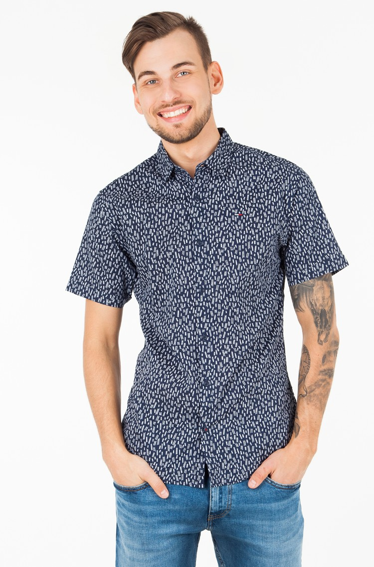 Shirt TJM PRINTED SHORT SLEEVE SHIRT-1