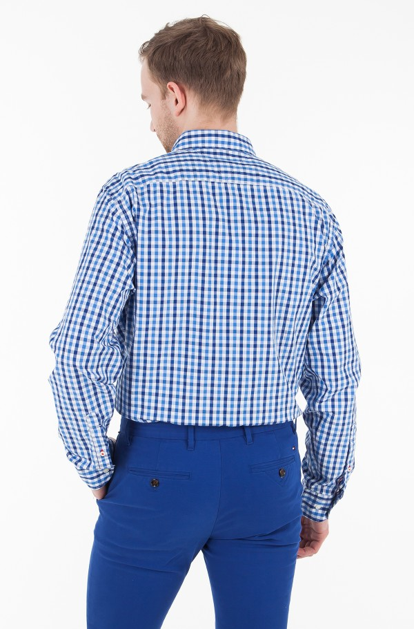 MULTI COLORED GINGHAM SHIRT-hover