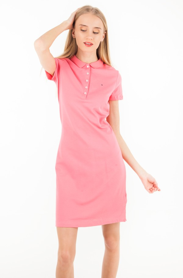 CHIARA STR PQ POLO DRESS SS