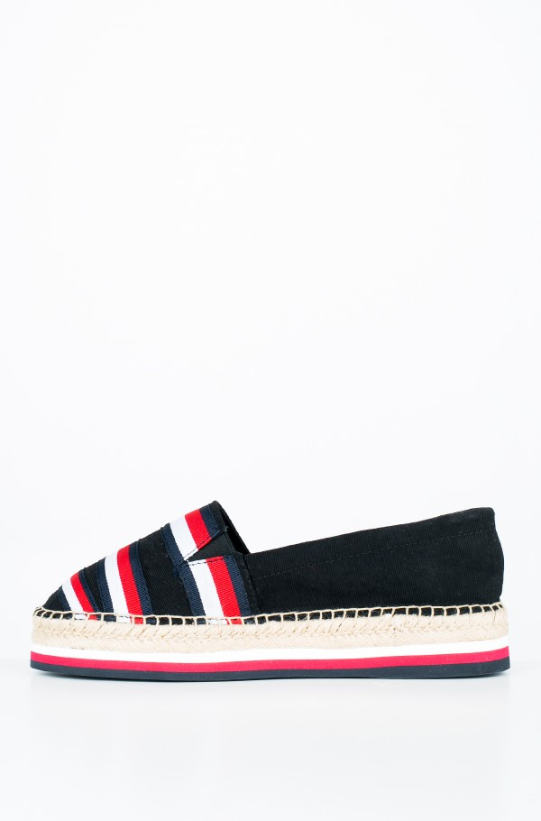 CORPORATE RIBBON FLATFORM SANDAL-hover