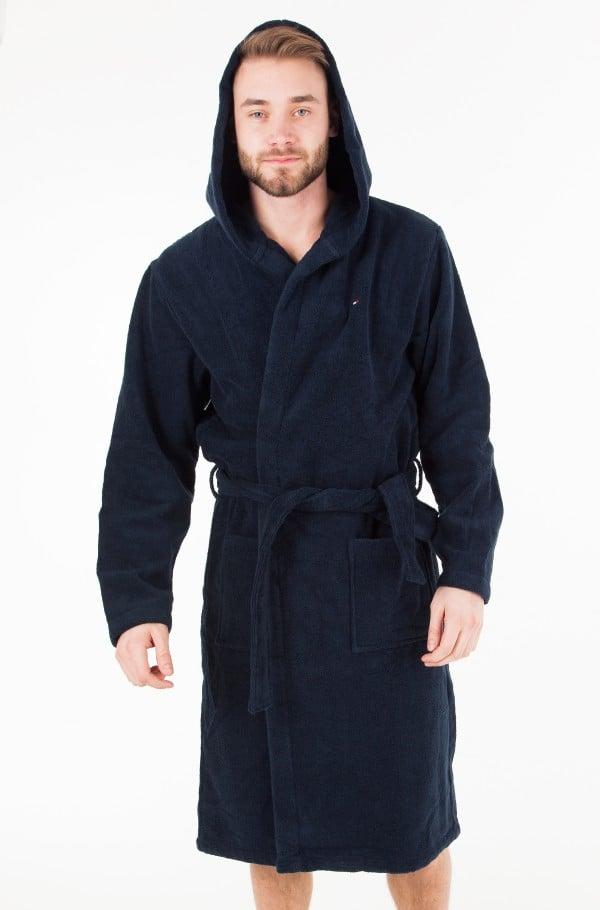 Icon hooded bathrobe