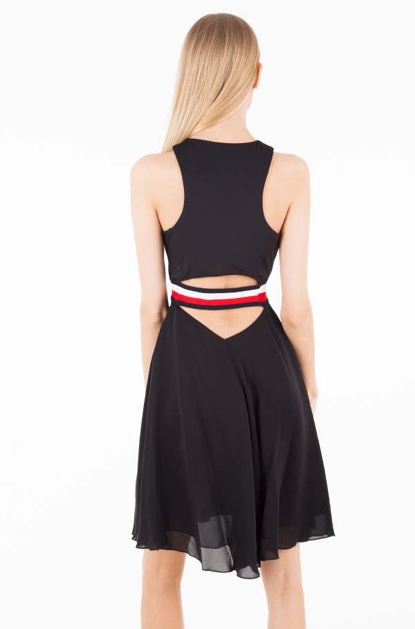 GIGI HADID SILK RACER BACK DRESS NS-hover