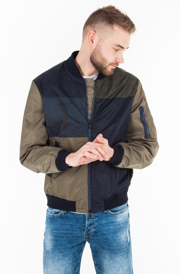 PATCHWORK BOMBER-hover
