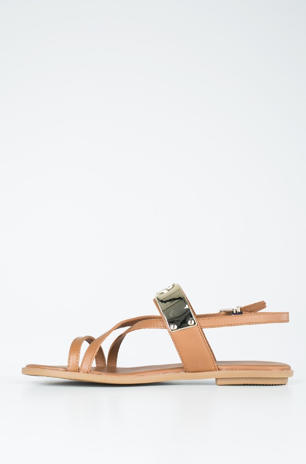 FLAT SANDAL WITH TH BAR-hover