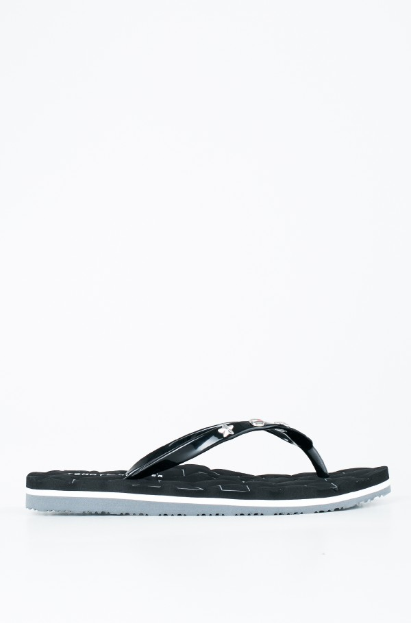 METALLIC STAR BEACH SANDAL
