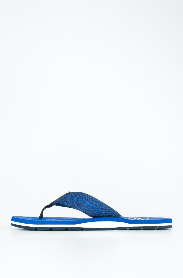STRIPES PRINT TH BEACH SANDAL-hover