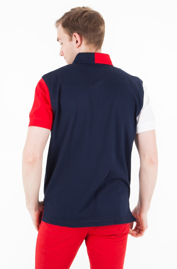 ADVANCED COLORBLOCK POLO-hover