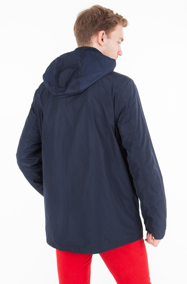 HOODED TECH JACKET-hover