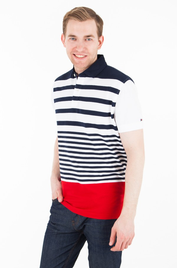 DYNAMIC STRIPE POLO