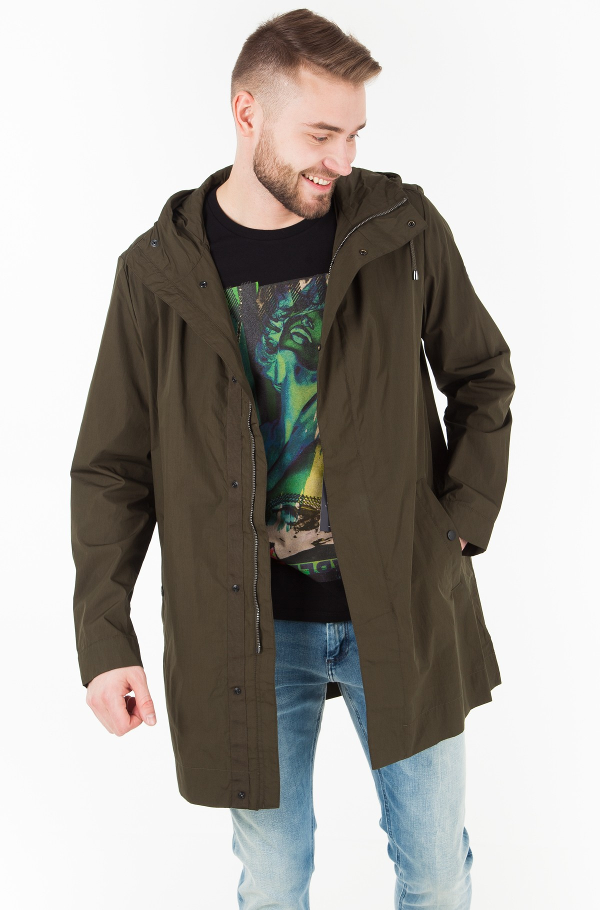 Striukė Light Weight Cotton Parka-full-1
