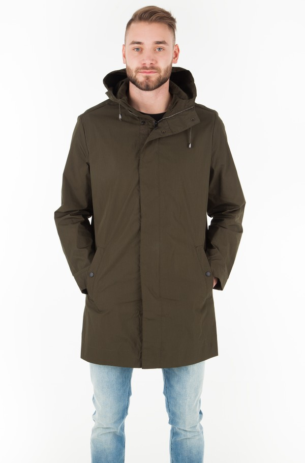 LIGHT WEIGHT COTTON PARKA-hover