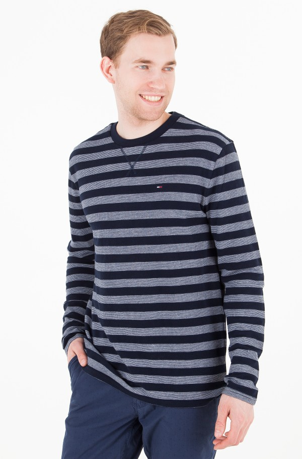 TJM STRIPE LONG SLEEVE KNIT