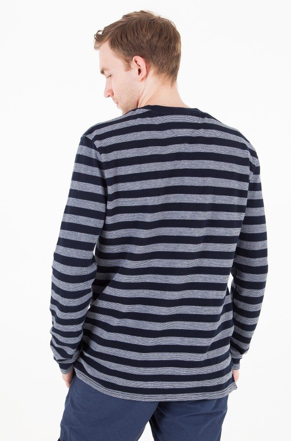 TJM STRIPE LONG SLEEVE KNIT-hover
