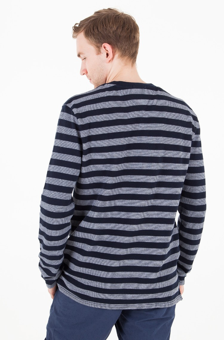 9a73acc8b77 Long sleeved shirt TJM STRIPE LONG SLEEVE KNIT Tommy Jeans, Mens ...