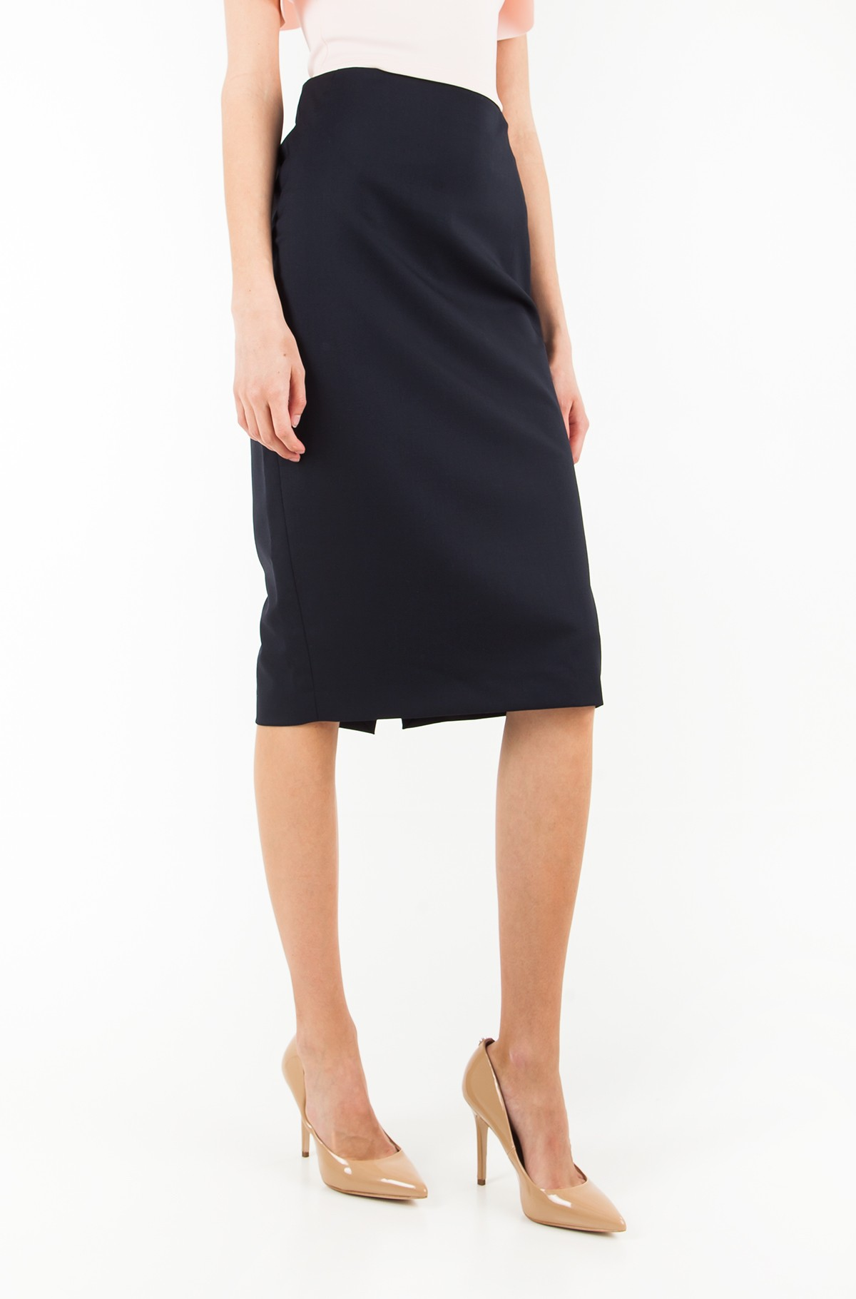 Sijonas LEAN PENCIL MIDI SKIRT-full-1