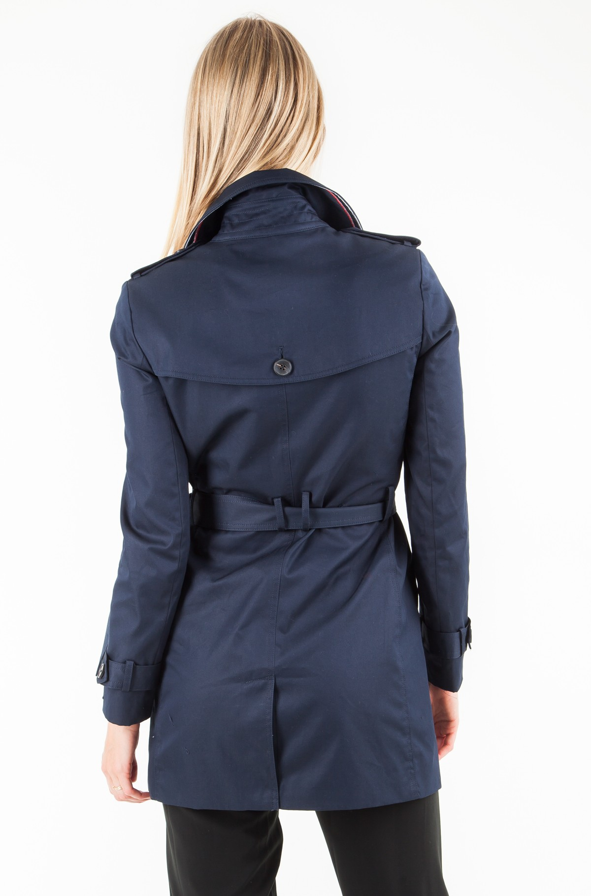 Mētelis Heritage Single Breasted Trench-full-2