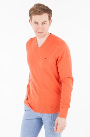 Sweater Cotton Silk Vneck-1