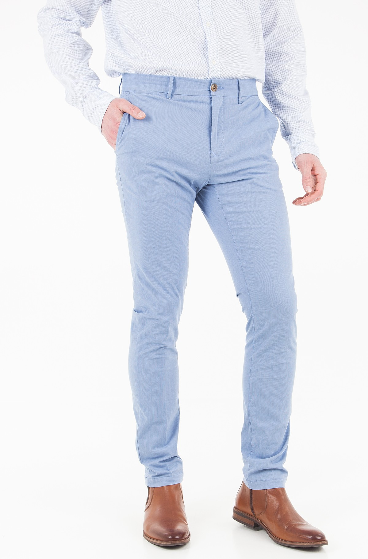 Trousers Denton Chino Str Lt Wt Yd Stripe-full-1