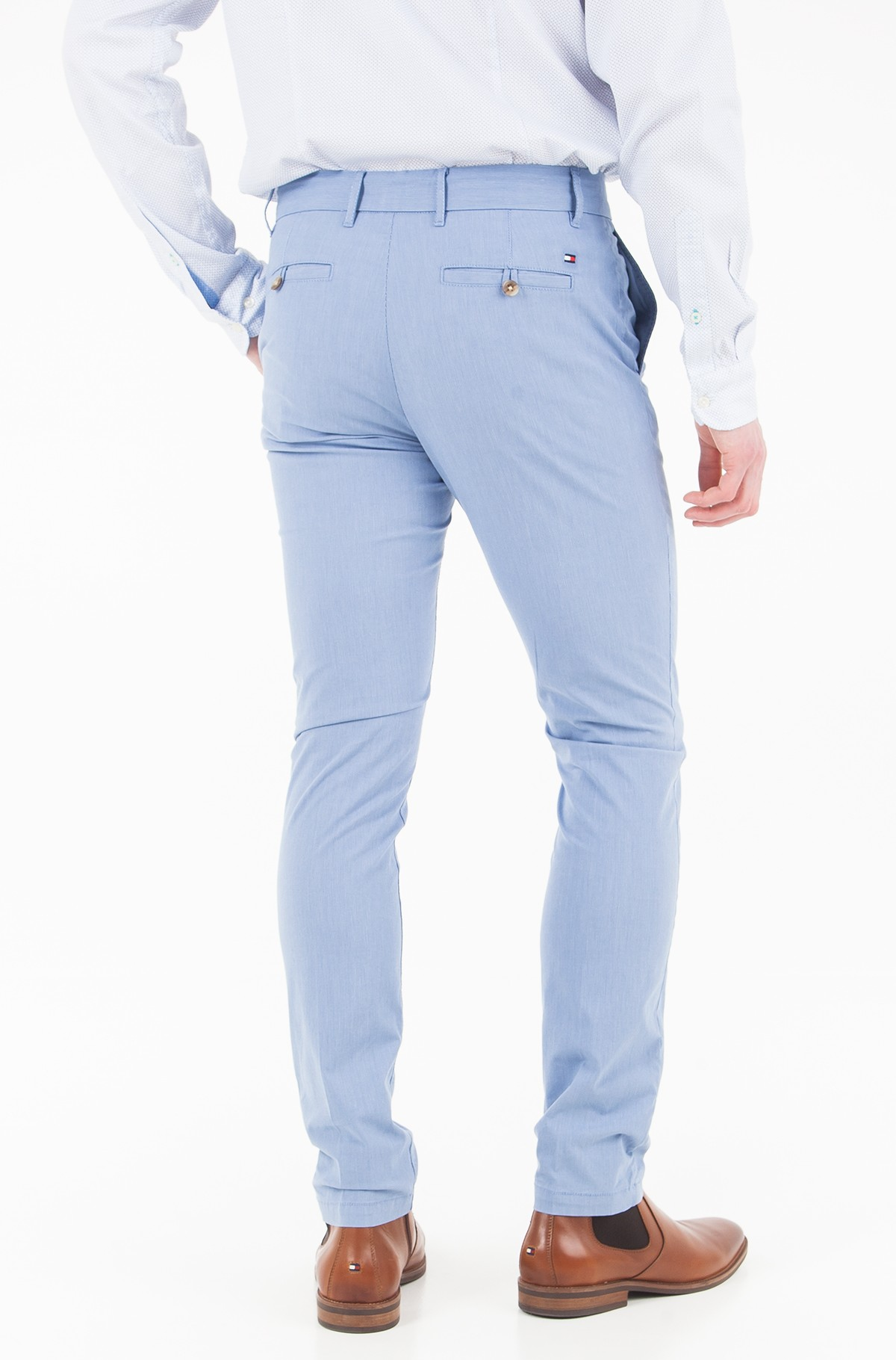 Trousers Denton Chino Str Lt Wt Yd Stripe-full-2