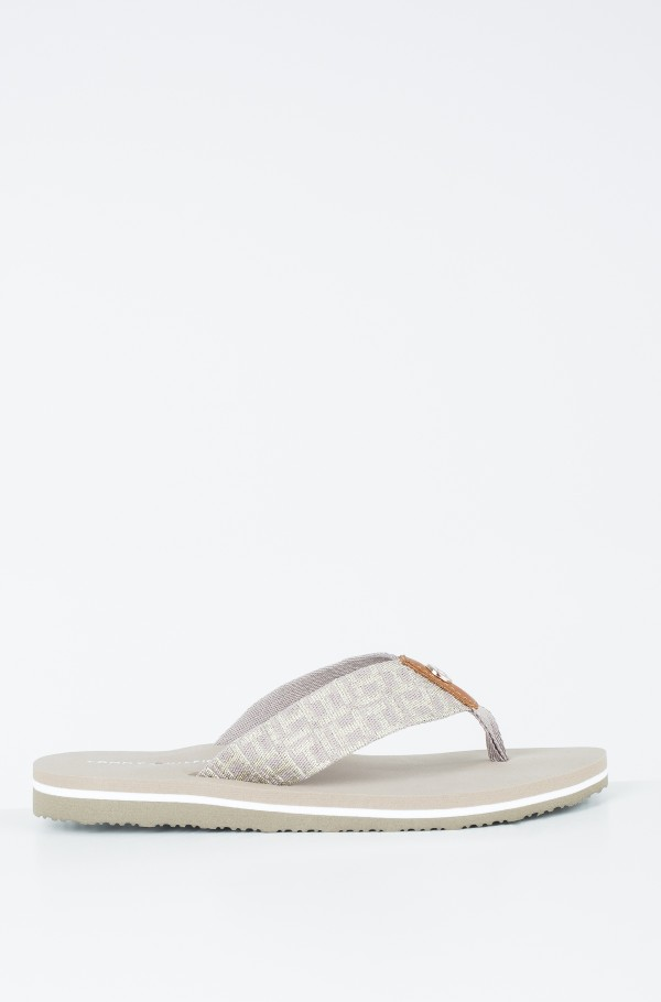 METALLIC LOW BEACH SANDAL