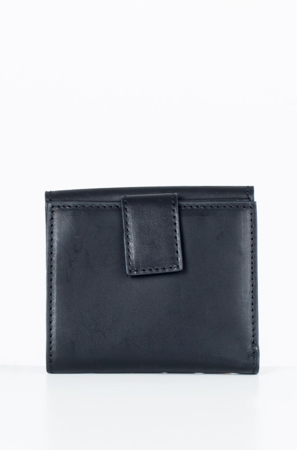 STAR STUDDED LEATHER SM FLAP WALLET-hover