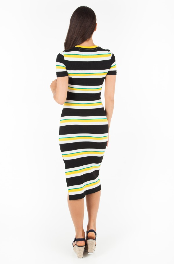 TJW RIB STRIPE TEE DRESS-hover