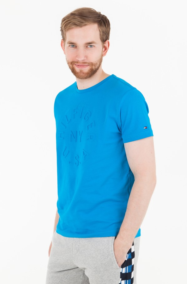 EMBOSSED GRAPHIC TEE