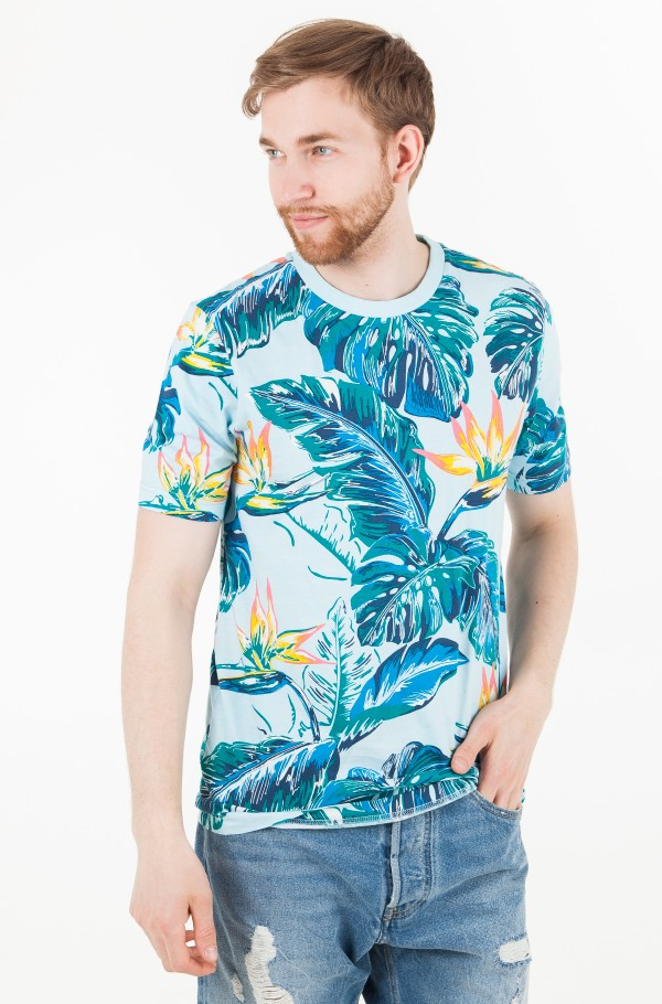 PARADISE PRINT FASHION FIT TEE