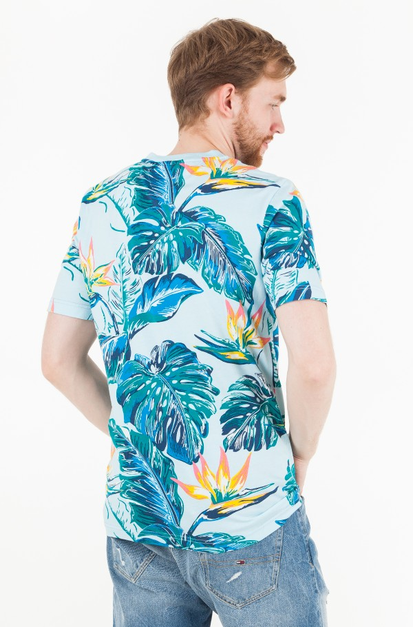 PARADISE PRINT FASHION FIT TEE-hover
